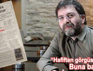 Ahmet Hakan: 'Şovu böyle yap Ağa'