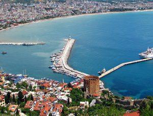 Alanya Milli Emlak'tan satılık ticari ve turistik 2 arsa