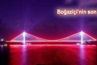 Yavuz Sultan Selim Köprüsü ışıl ışıl oldu