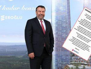 Nurettin Eroğlu 'gözaltı'na gazete ilanıyla açıklık getirdi