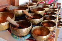 Nepal'in şifa dağıtan kâselerine Antalya'da büyük ilgi