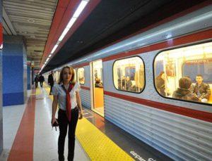 """""""Aşkımız Keçiören Metrosu""""nun test sürüşü yapılıyor"""