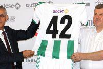 Zermeram, Atiker Konyaspor'a forma sponsoru oldu