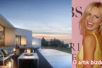 Victoria's Secret'ın meleği Karolina Kurkova Bodrum'a kondu