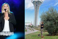 Lara Fabian'ın artık Türkiye'de dikili zeytin ağacı var