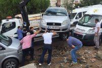 Maltepe'de yağmur yağdı, Cansu Sokak çöktü