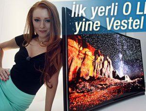 Vestel ilk yerli OLED TV'yi sunuyor