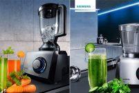 Siemens'in katı meyve sıkacakları detoksu keyfe dönüştürüyor