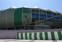 Timsah Arena'da kafanın montesi bir aya kadar başlıyor