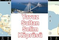 Yavuz Sultan Selim Köprüsü Yandex.Navigasyon'da