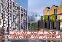 Yeşil GYO iki projede ortaklarının hisselerini satınaldı