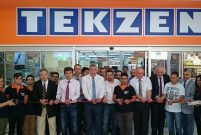 Tekzen'in Alanya mağazası yeni yerinde hizmete girdi