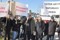 Fi Yapı mağdurları şirketin TMSF'ye devrini talep etti