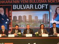 Akfen, İncek'teki yeni projesi Bulvar Loft'u tanıttı
