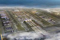 250 havayolu şirketi üçüncü havalimanından 350 noktaya uçacak