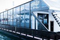 Yüzen ev CNR Avrasya Boat Show'da görücüye çıktı