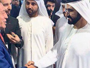 Dubai Emiri Al Maktum Ağaoğlu standını ziyaret etti