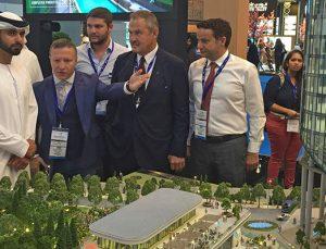 Prens Al Maktoum Avrupa Office Ataşehir'e tam not verdi