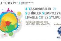Yaşanabilir Şehirler Sempozyumu4. kez düzenleniyor