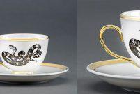 Yılanlı kahve fincanı İstanbul Modern Mağaza'da