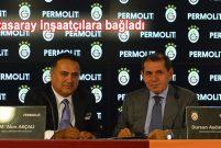 Galatasaray'ın kol sponsoru Permolit Boya oldu