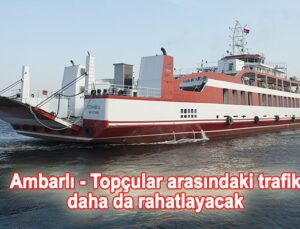 İDO, Ro-Ro hattıyla İstanbul trafiğine nefes oluyor