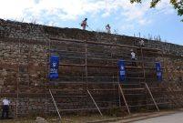 İznik'in 5 kilometrelik tarihi surları temizleniyor