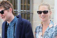 Kate Moss sevgilisi Bismarck'ı tekmeyle dövüp evden attı