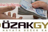 Özak GYO, grubunun imkanları ile 10 yıllık finansman sağladı