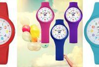 Okulda saate bakmak Seiko Watch ile rengarenk