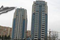 Diyarbakır'ın ikiz kuleleri F-16 modeliyle traşlanıyor
