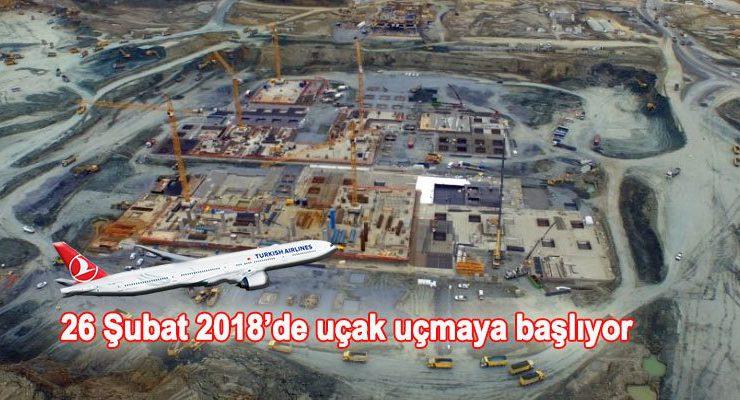 3. Havalimanı'nın inşaatı tam gaz devam ediyor