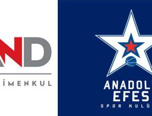 AND Gayrimenkul Anadolu Efes'in resmi partneri oluyor
