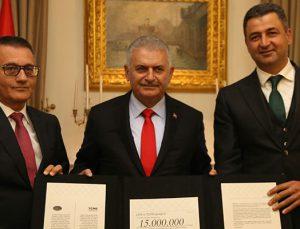 Çimentoculardan 15 Temmuz kampanyasına 15 milyon TL destek