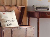 Linens'ten 'lugat parçalayan' dekoratif yastıklar