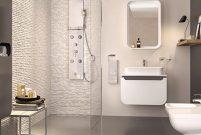 Creavit'in modern ve minimal banyo mobilyası Pion Plus