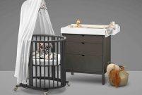 Çocuğunuzla birlikte büyüyen yatak Stokke Sleepi