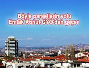 Ankara Çankaya'da 225 dönümde satılık 3 arsa