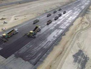 3. havalimanında ilk asfalt döküldü