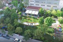 Beşiktaş'taki Ihlamur Parkı yeşil alan oldu