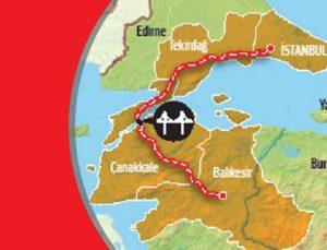 Kınalı-Tekirdağ-Çanakkale-Savaştepe Otoyolu başlıyor