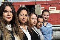 TCDD'nin kadın makinistleri göz dolduruyor