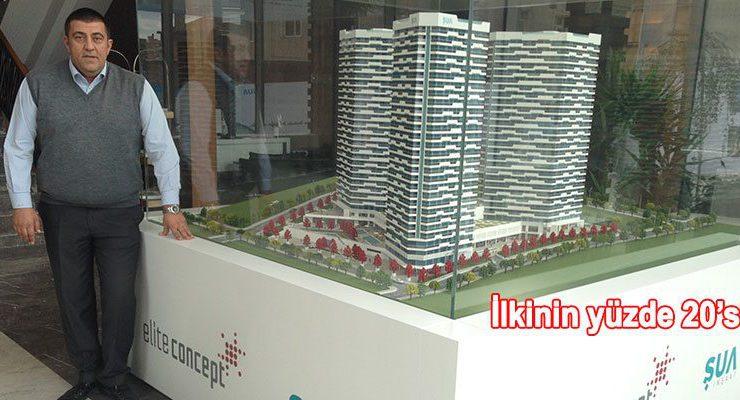 Fikirtepe'deki Elite Concept, satışta işaret fişeği oldu