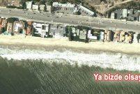 Carbon Plajı'nda 70 milyoner 2 bin 414 metrelik kıyıya sığıyor