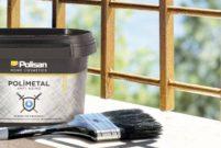 Polisan'dan dünyanın ilk su bazlı metal boyası Polimetal