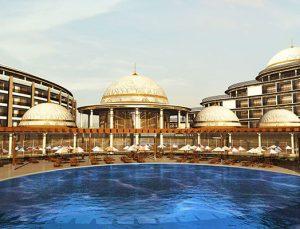 Yalova Termal Palace'ın inşaatı bitmeden rezervasyonları doldu
