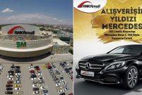 ANKAmall'dan alışveriş yapana Mercedes Benz kazanma şansı