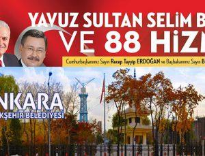 Ankara'da 88 projeye 8 Kasım'da toplu açılış yapılacak