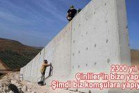 Irak sınırı hendekli duvarla tamamen kapanacak!