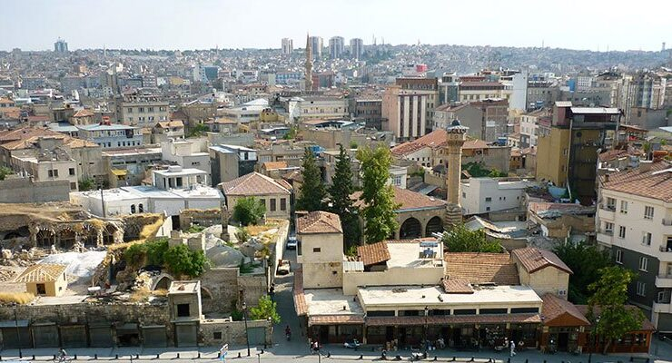 Gaziantep'te 20 milyon TL'ye satılık 6 arsa